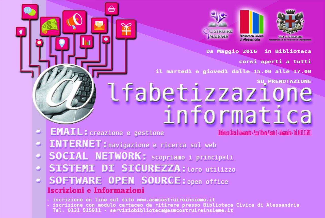 Corsi di alfabetizzazione informatica