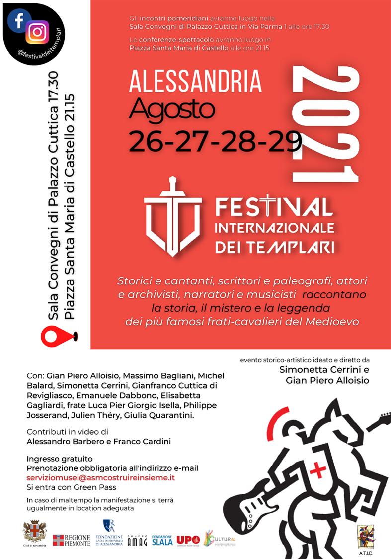 Locandina Festival Templari